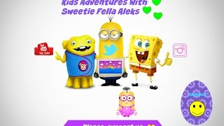 Kids Adventures With Sweetie Fella Aleks