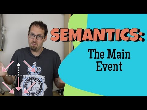 How Do We Match Verbs and Times? Event Semantics