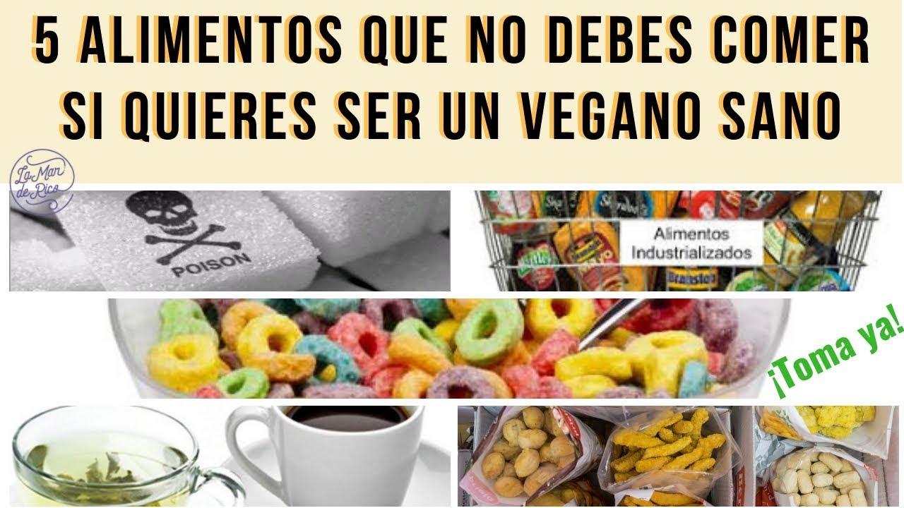 alimentos saludables que no debes comer