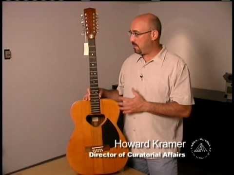 Behind the Scenes (Artifact Spotlight) - Pete Seeger's Guitar