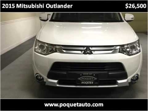 2015 mitsubishi outlander used cars golden valley mn youtube for Poquet motors golden valley mn