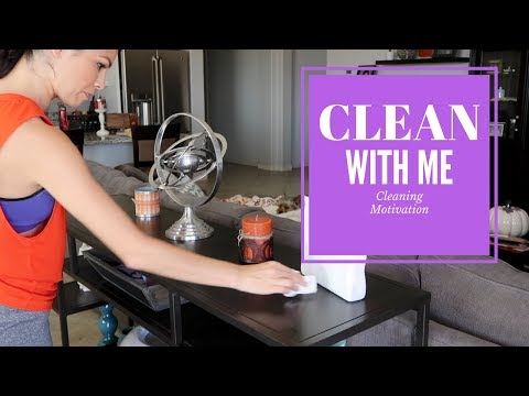CLEAN WITH ME 2017 || MOTIVATIONAL MONDAY || STAY AT HOME MOM