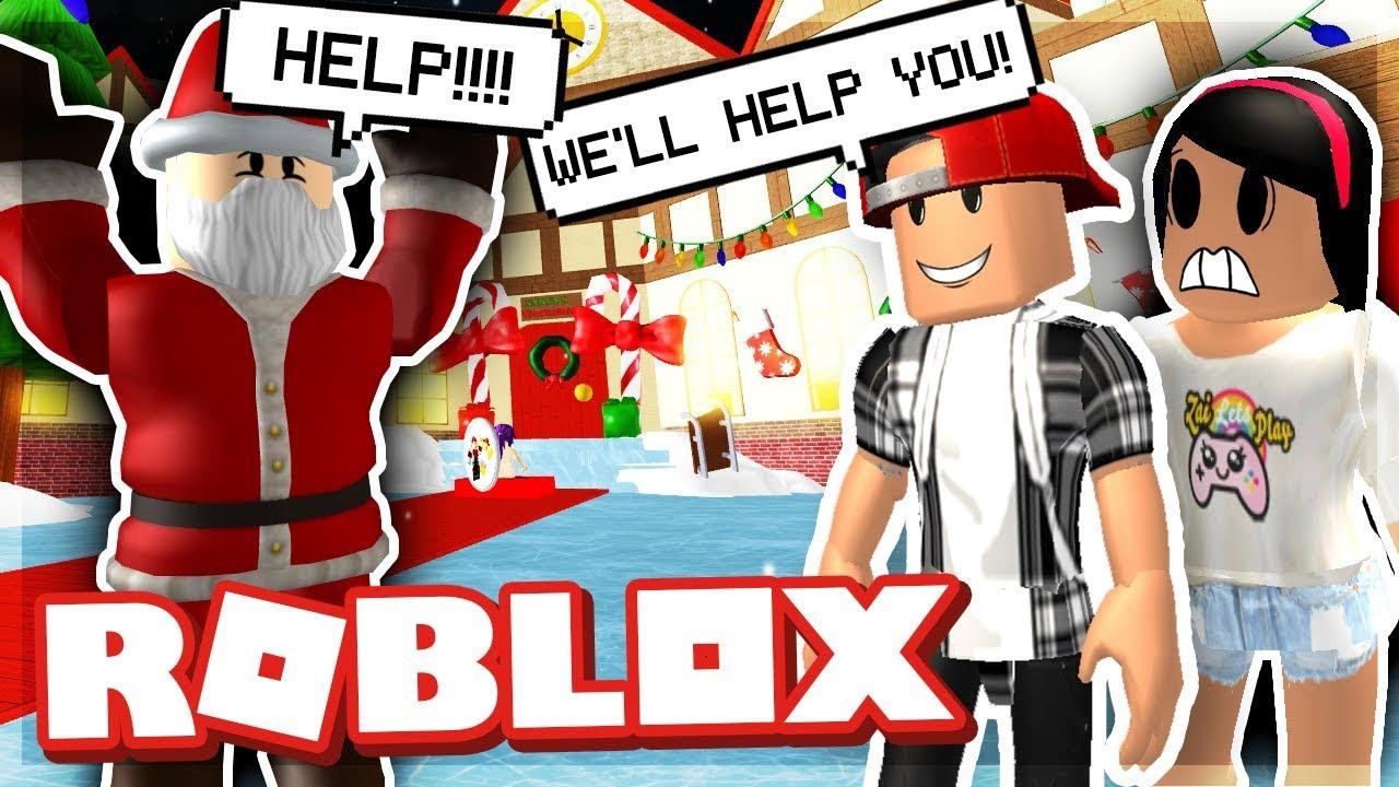 We Have To Save Christmas Roblox Save Christmas Obby Youtube