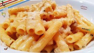 424 - Maccheroncini lardellati...a dir poco prelibati! (pasta facile e veloce al lardo)