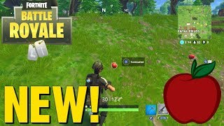 *NEW* FORTNITE V4.2 PATCH UPDATE. NEW APPLES IN GAME!