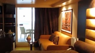 MSC Splendida is Fantasia-class cruise ship owned and operated by M...