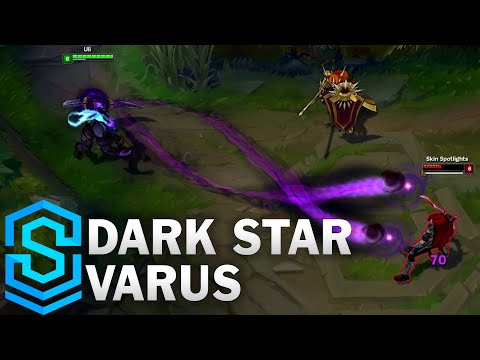 Dark Star Varus Skin Spotlight - League of Legends