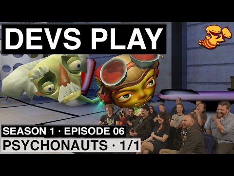 """Devs Play"" S1E06 - Psychonauts ""The SMK Speedrun"" [1/1]"