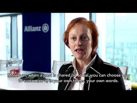 Talks with Delphine Asseraf and Alexandre du Garreau of Allianz France on Social Media