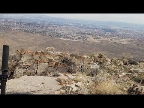 Cowboy Trails loop in Red Rock Canyon Las Vegas Nevada