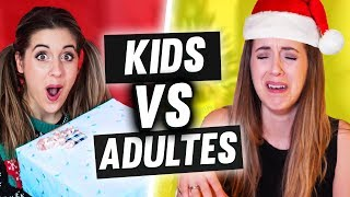 NOËL KIDS VS ADULTES | DENYZEE