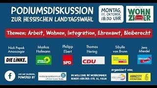 Podiumsdiskussion im Wohnzimmer Teil 3/4: Wohnungsnot in Fulda
