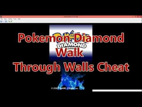Pokemon Diamond Walk Through Walls Cheat