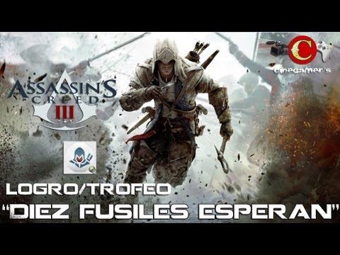 "Assassin´s Creed III Logro/Trofeo ""Diez fusiles esperan"""