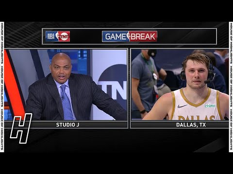 Luka Doncic Talks Win against the Nets, Postgame Interview - Inside the NBA   May 6, 2021
