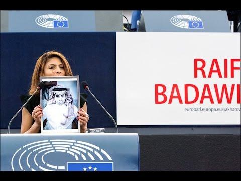 Sakharov Prize 2015 to Raif Badawi - (English)