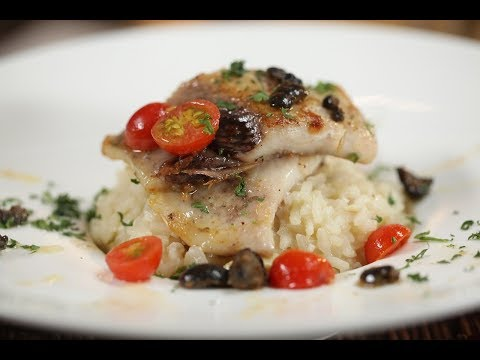 How To Make Mushroom Risotto With Seared Pomfret (Part 1) || Amrita Raichand