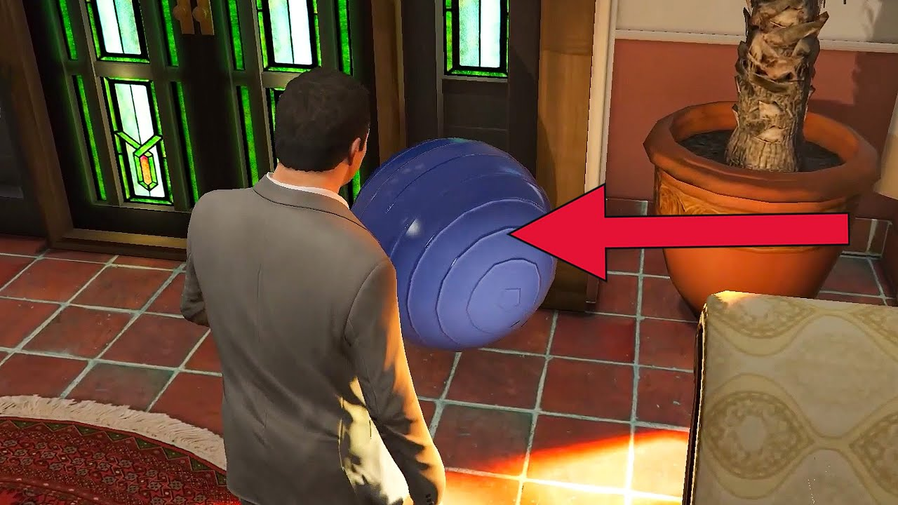 The Hidden Meaning Behind The Blue Yoga Ball in GTA 5