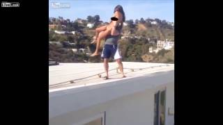 Instagram Playboy Dan Bilzerian Threw A PORN STAR Off The Roof And Almost Killed Her!!!