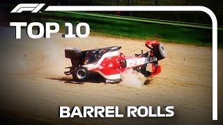 Top 10 Barrel Rolls in F1