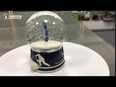 Resin Souvenir Company LOGO Inner View Snow Ball Water Polo