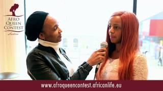 BAHATI VENUS, jury member at the AFRO QUEEN CONTEST 2014, Austria