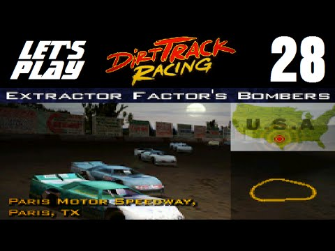 Let's Play Dirt Track Racing - Part 28 - Y3R12 - Paris Motor Speedway