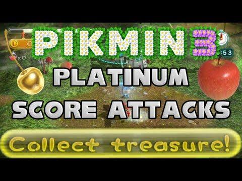 """Pikmin 3: Mission Mode - """"Collect Treasure"""" Platinum Score Attacks"""