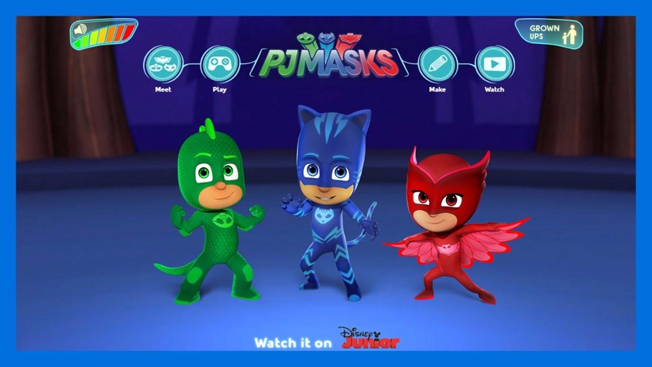 Pj Masks: Héroes en pijamas | CAPITULO 1 | Casa de los Héroes en pijamas  (CATBOY) | Disney Junior
