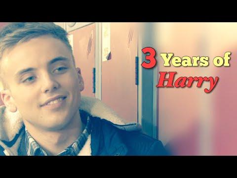 3 years of Harry Thompson (Hollyoaks)