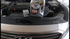 Hyundai Sonata Oil Change