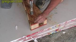Nailing And Building An Arch For Wood Framed House