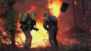 Incendies meurtriers en Espagne et au Portugal