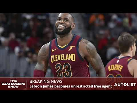 LeBron James News: LeBron Opts Out Of Contract With The Cavaliers