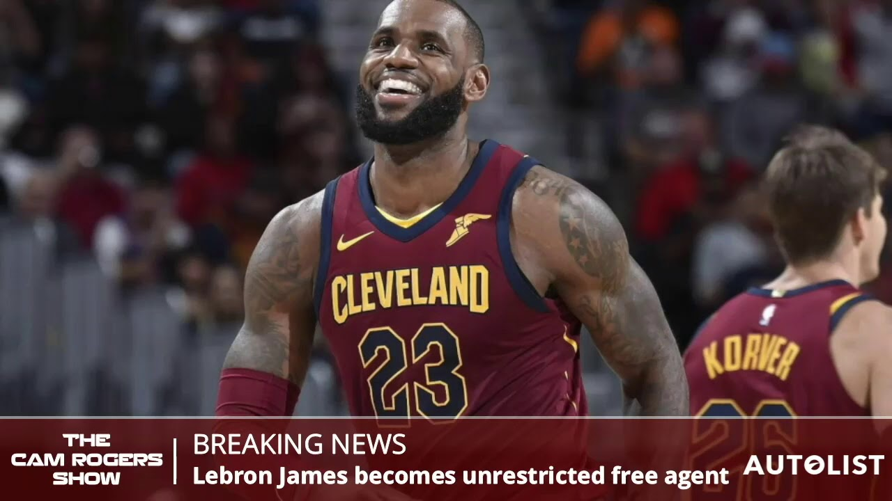 8ef619369a0c LeBron James News  LeBron Opts Out Of Contract With The Cavaliers ...