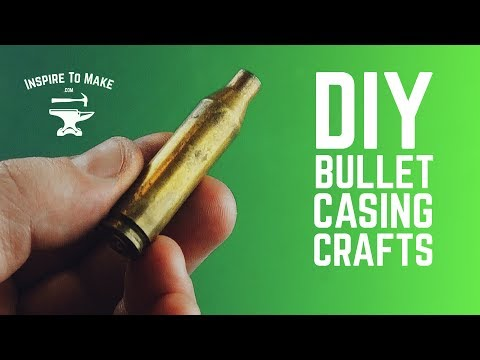 7 DIY Bullet Shell Craft Ideas 🔫