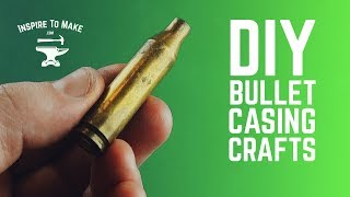 7 DIY Bullet Shell Craft Ideas ????