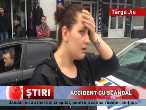 Accident grav în Târgu Jiu, județul Gorj