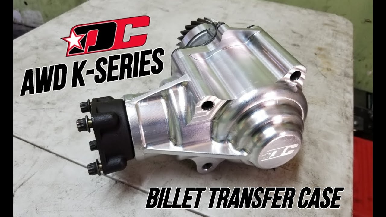 Drag Cartel K-series Billet AWD T-Case assembled by Red