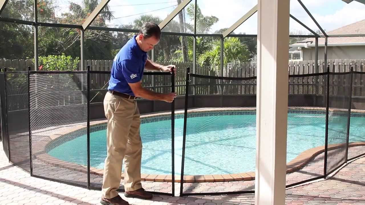 Were Serious About Pool Fence Safety Youtube