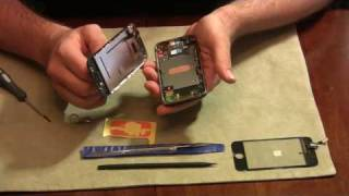 How to fix an iPhone Screen / Glass /  Digitizer