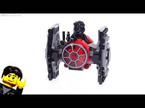 LEGO Star Wars First Order TIE Fighter Microfighter Review! 75194