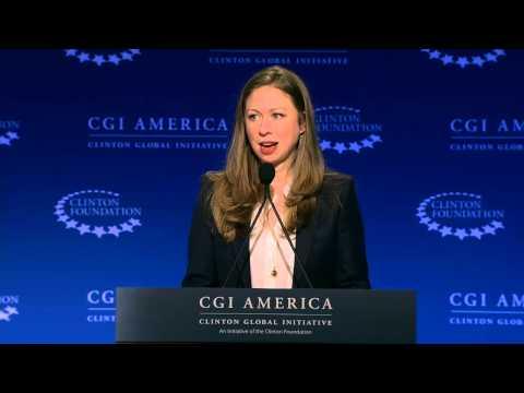 Chelsea Clinton Announces Too Small To Fail Commitments – CGI America 2015