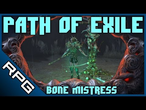 """The Bone Mistress Ep1 • The Roleplay Gamer Plays """"Path of Exile"""""""