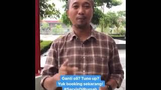 Fitra Eri Rekomendasi Layanan Servis di Rumah ExxonMobil X Brum