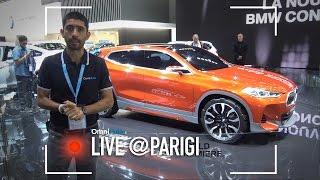 BMW X2 Concept | Salone Di Parigi 2016