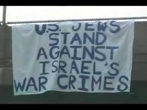 US Jews Stand Against Israels War Crimes