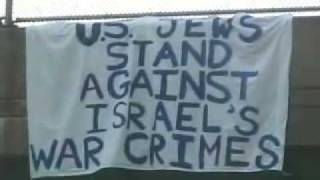 US Jews Stand Against Israels War Crimes