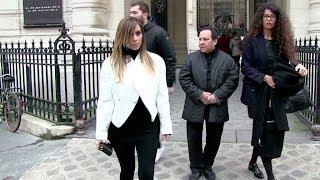 EXCLUSIVE - Kim Kardashian meeting with Azzedine Alaia in Paris
