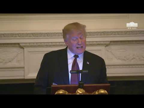 President Trump Participates in the White House Iftar